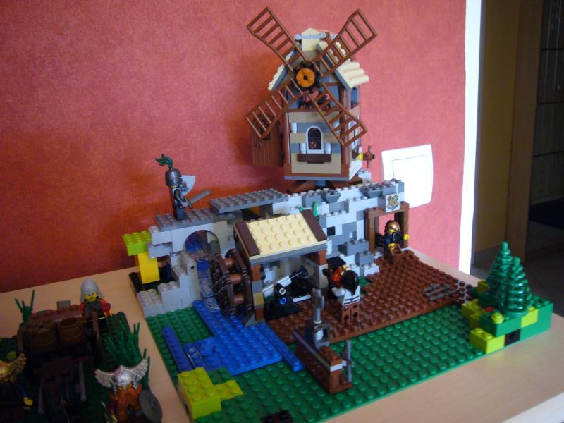Die Mühle auf dem Stollen